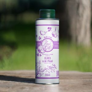 Huile d'olive spéciale - Ail / Persil