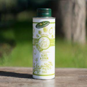 Huile d'olive parfumée au Citron