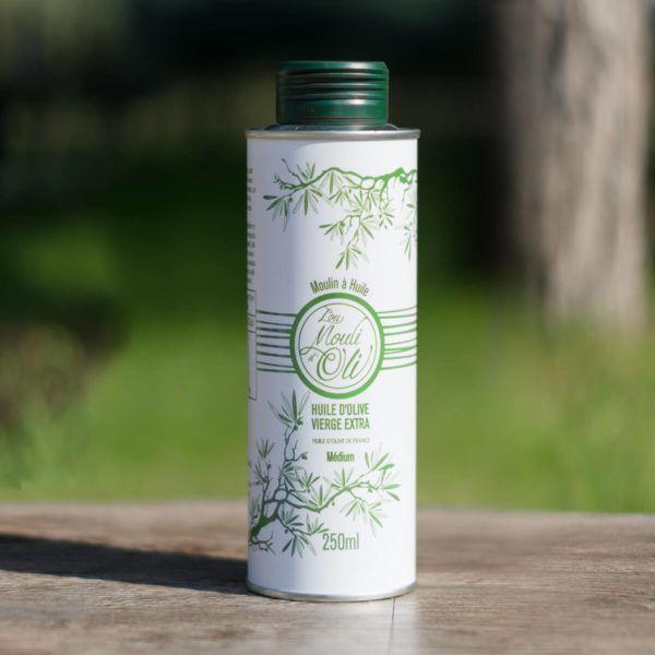 Huile d'olive vierge extra Médium – 250 ml