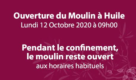 Lou Mouli d'Oli - Ouverture