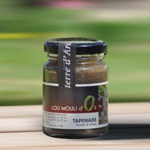 Purée d'olive - Tapenade noire