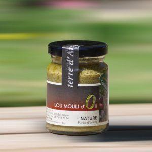 Purée d'olive verte - Nature