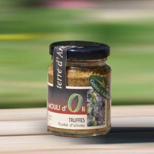 Purée d'olive verte - Truffes